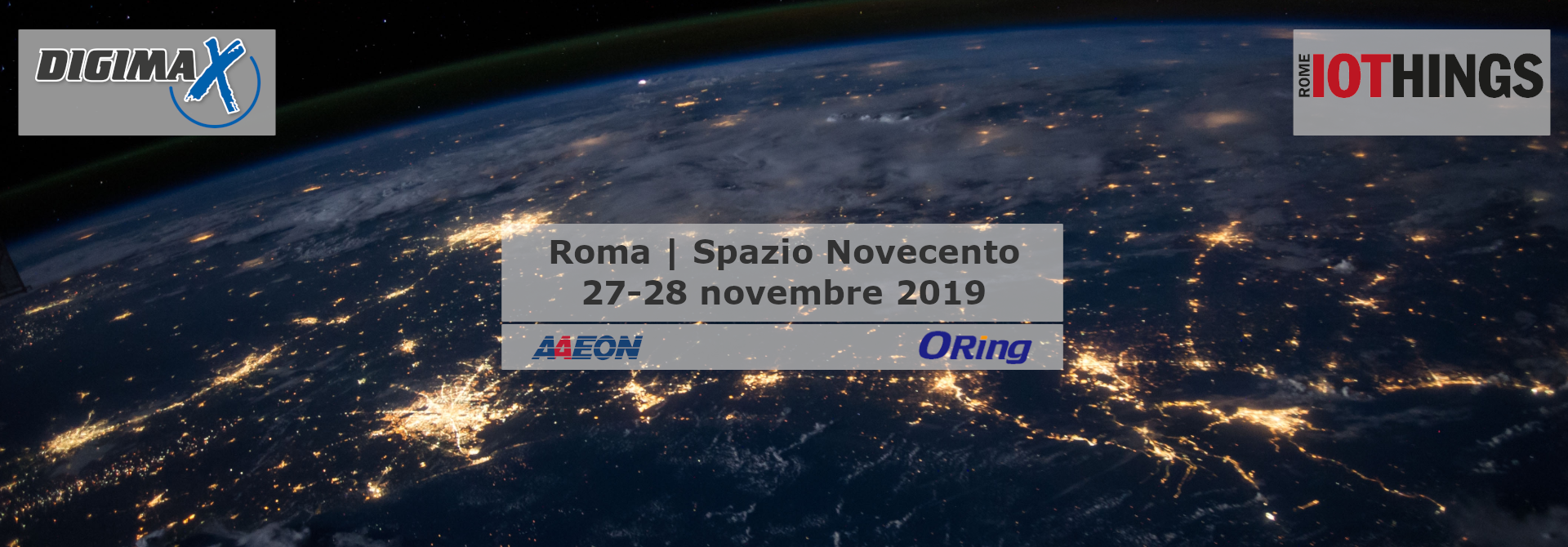 Evento nazionale IoThings Roma 2019 - Digimax