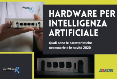 BOXER-8120AI: PC box compatto AAEON dedicato all'Intelligenza Artificiale