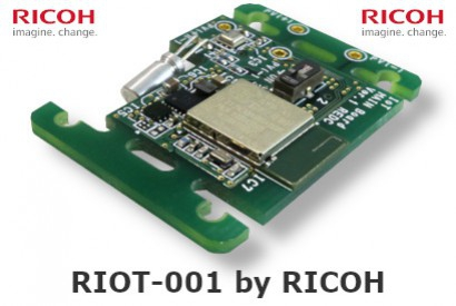 RIot Environmental Sensing Board Ricoh with high energy efficiency