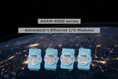 ADAM-6000 Series: Ethernet I/O modules proposed by Digimax