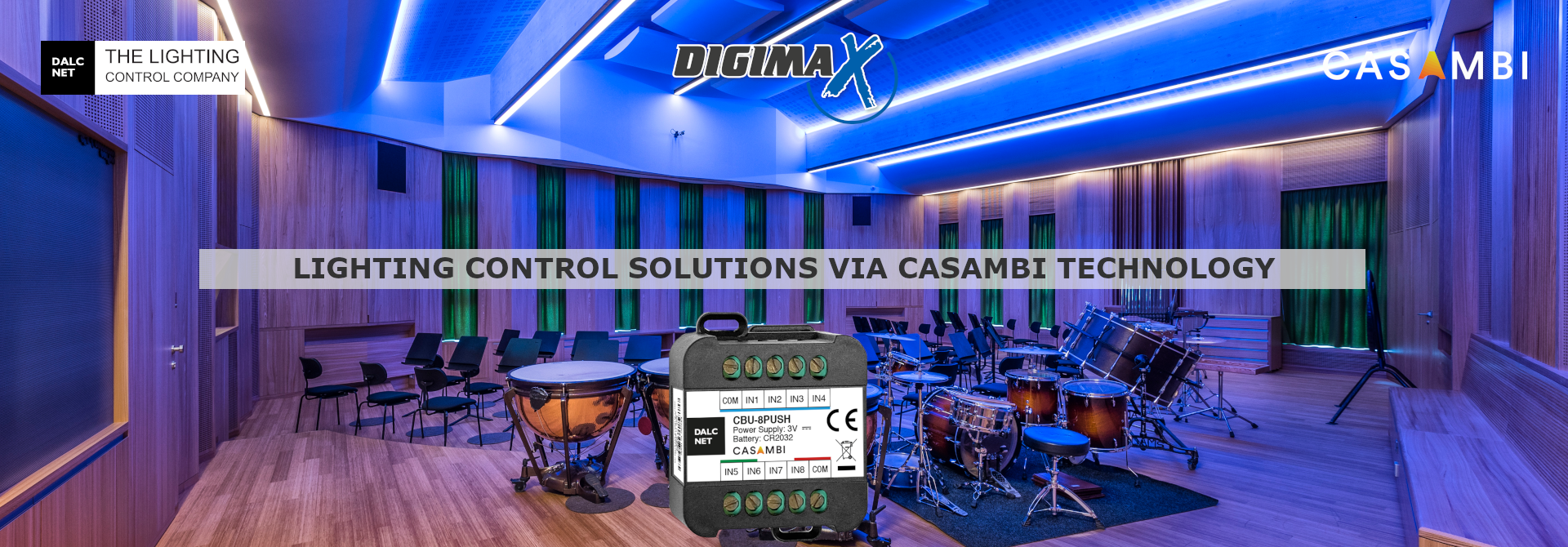 Dalcnet - CBU-8PUSH device for Casambi applications