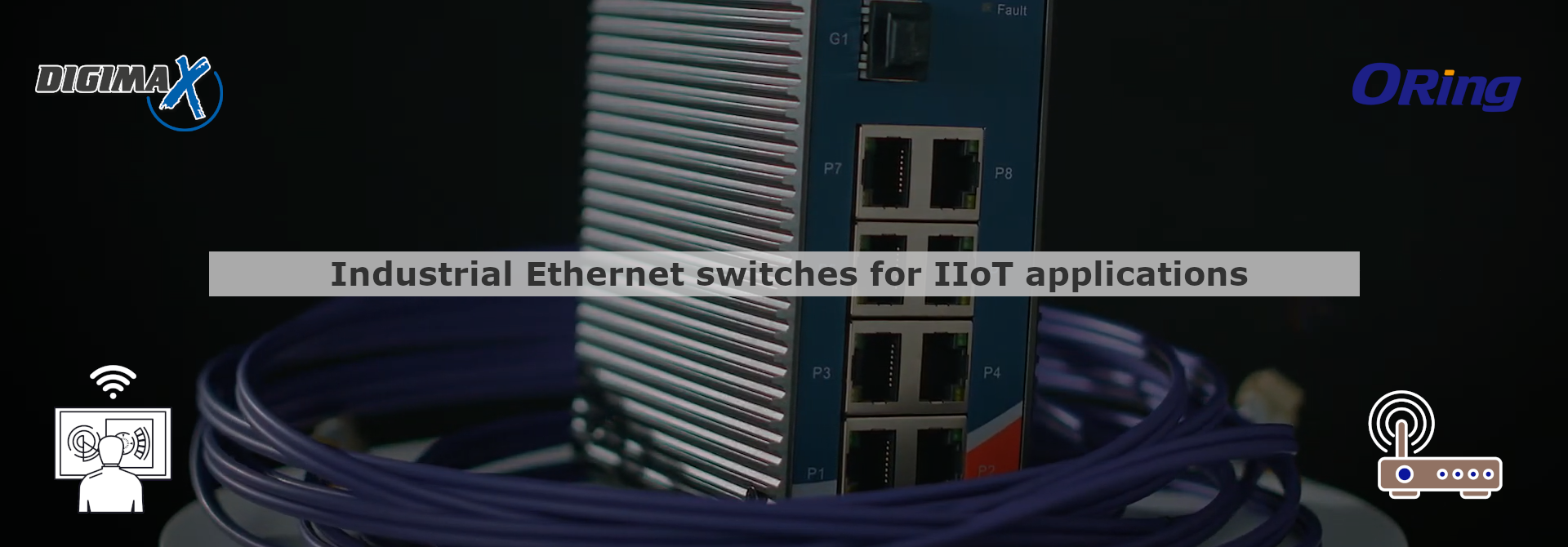 Industrial Switch Ethernet ORing